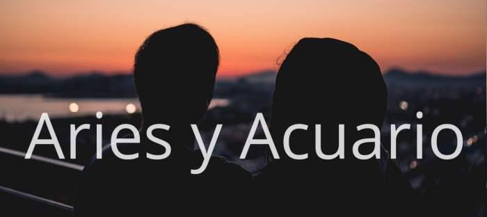 Compatibilidad entre Aries y Acuario