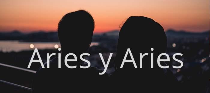 Compatibilidad entre Aries y Aries