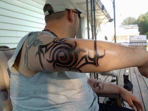 tatuaje-tribal-codo