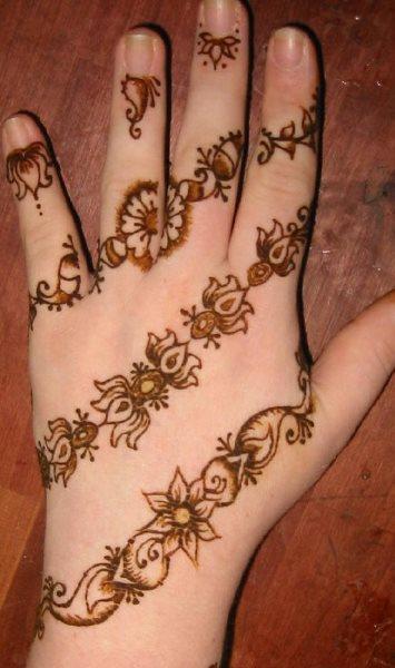 tatuaje henna 1028
