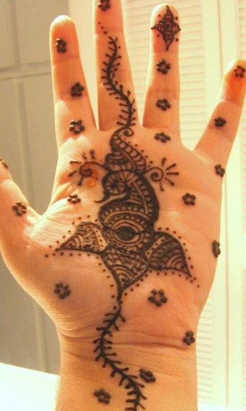 tatuaje henna 1036