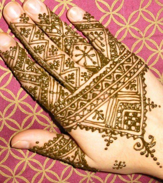 tatuaje henna 1042