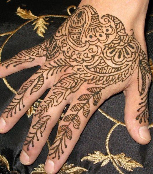tatuaje henna 1043