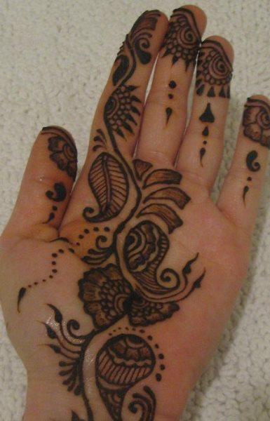 tatuaje henna 1044