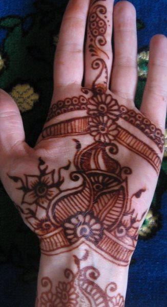 tatuaje henna 1045