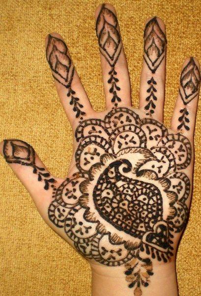tatuaje henna 1047