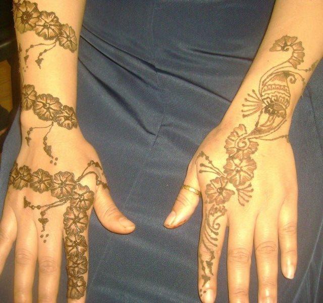 tatuaje henna 1052