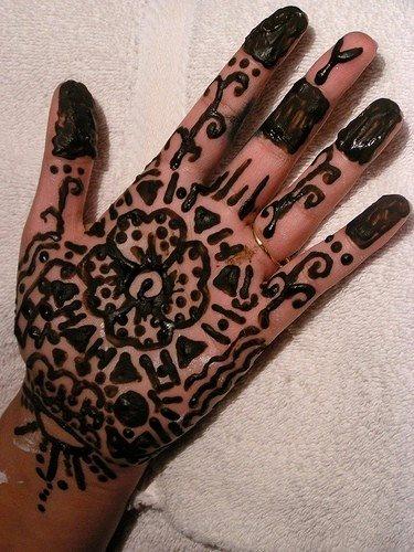 tatuaje henna 1053