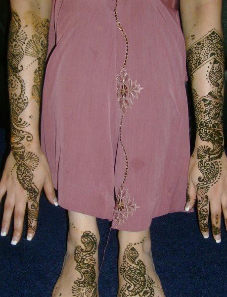 tatuaje henna 1055