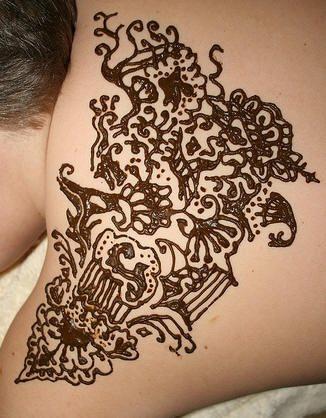 tatuaje henna 1057