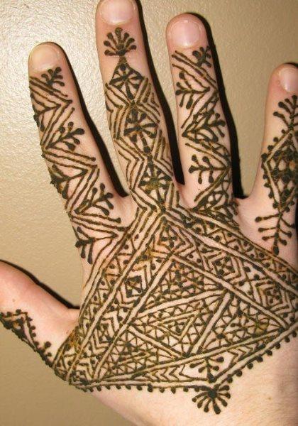 tatuaje henna 1058
