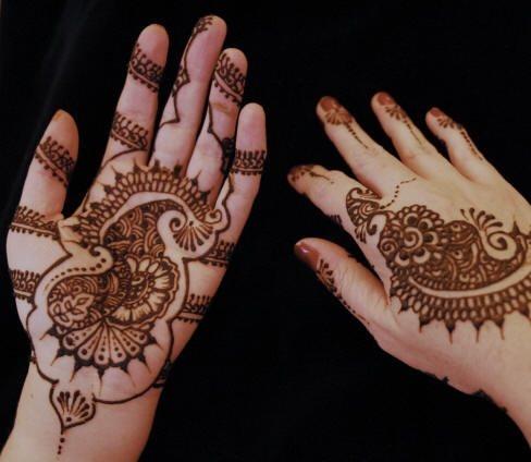 tatuaje henna 1061