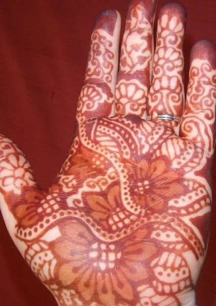 tatuaje henna 1063
