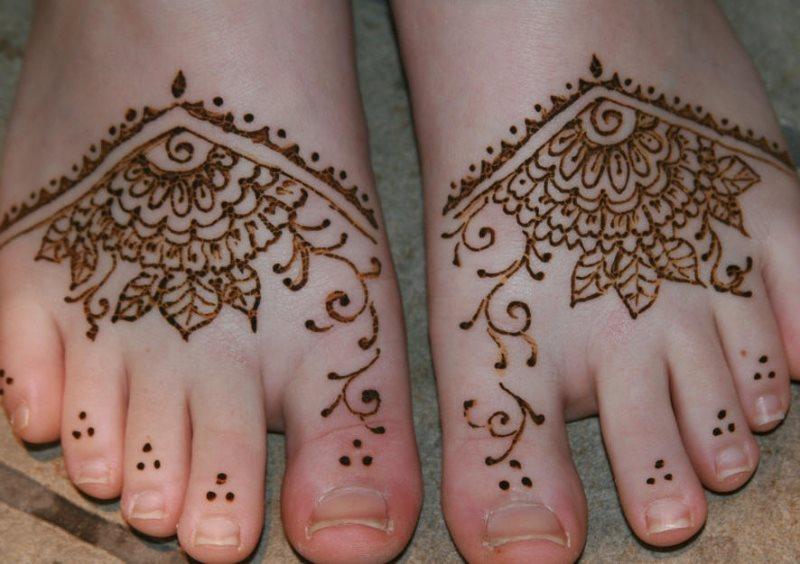 tatuaje henna 1001