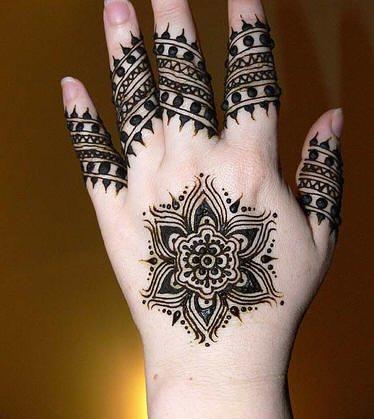 tatuaje henna 1003