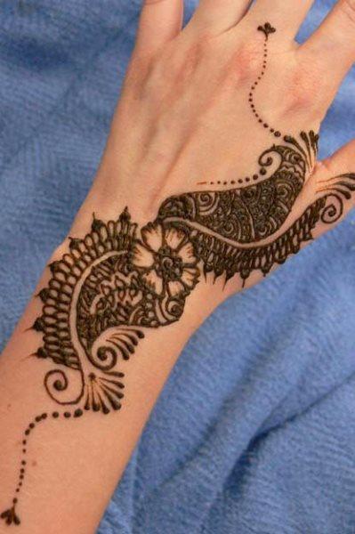 tatuaje henna 1006
