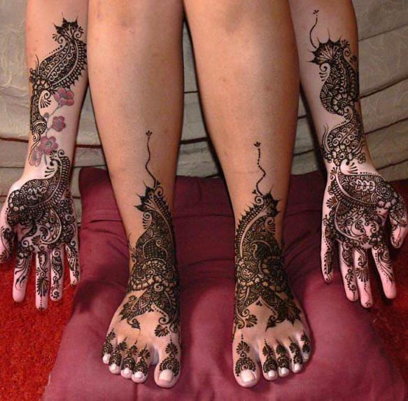tatuaje henna 1007