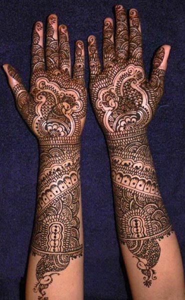 tatuaje henna 1009