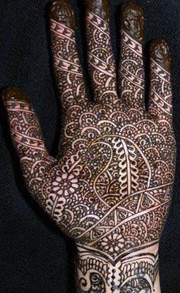 tatuaje henna 1018