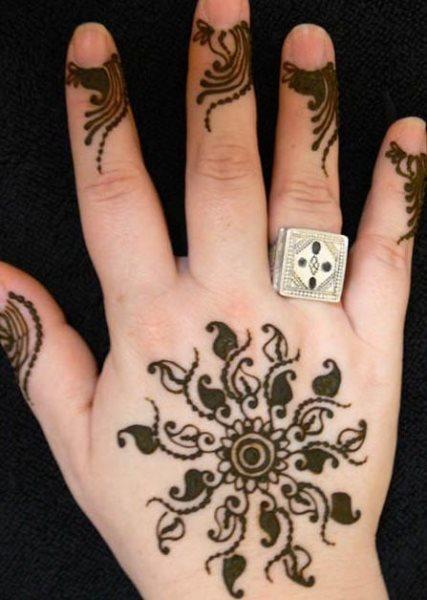 tatuaje henna 1019