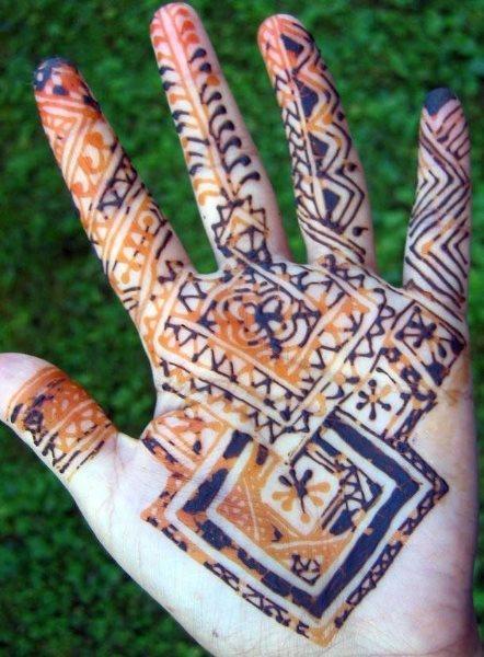 tatuaje henna 1026