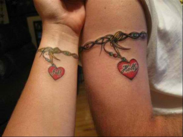tatuaje de pareja 35