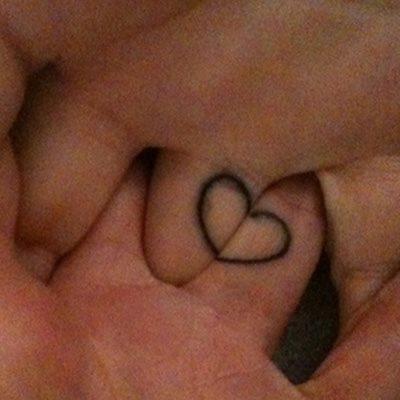 tatuaje de pareja 45