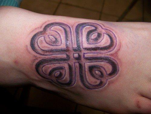 tatuaje trebol 01