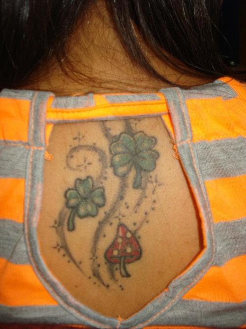 tatuaje trebol 02