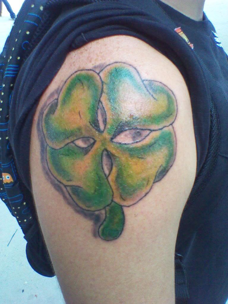 tatuaje trebol 04