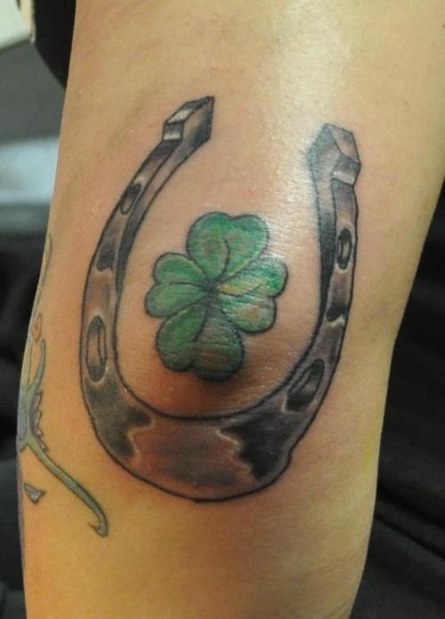 tatuaje trebol 08