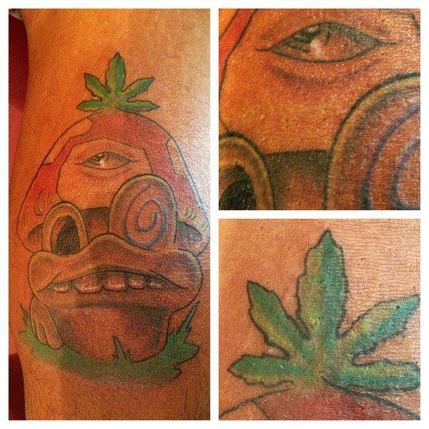 tatuaje trebol 11