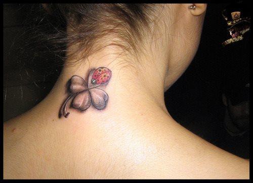 tatuaje trebol 12