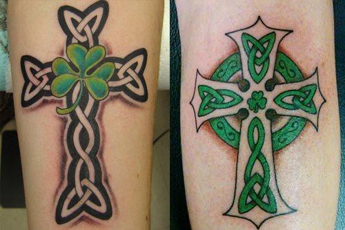 tatuaje trebol 14