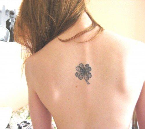 tatuaje trebol 43