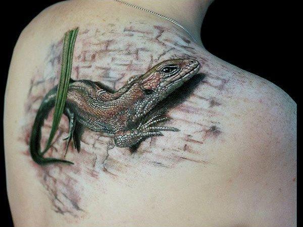 tatuaje lagarto para hombre 02