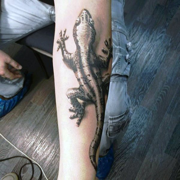 tatuaje lagarto para hombre 24