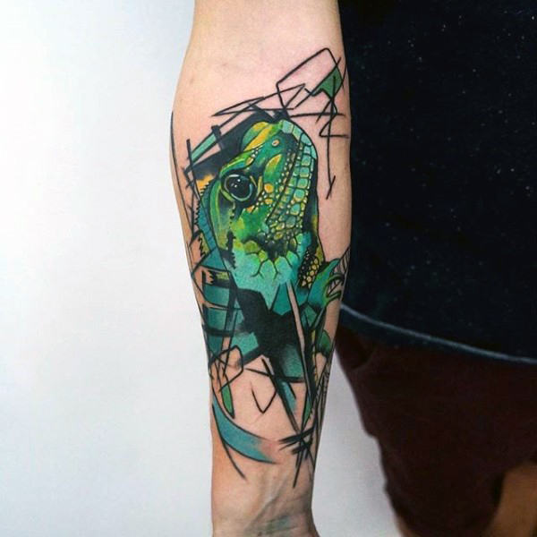tatuaje lagarto para hombre 28
