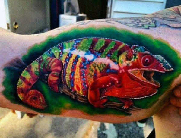 tatuaje lagarto para hombre 31