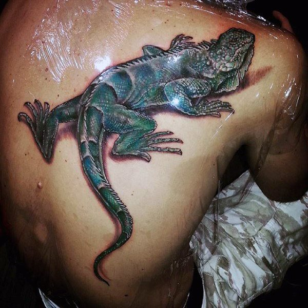 tatuaje lagarto para hombre 37