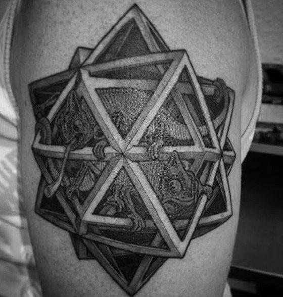 tatuaje lagarto para hombre 43