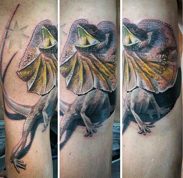 tatuaje lagarto para hombre 81
