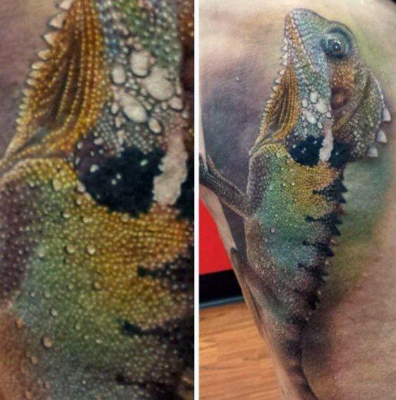 tatuaje lagarto para hombre 89